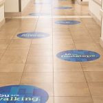floor graphics supplier in Dubai